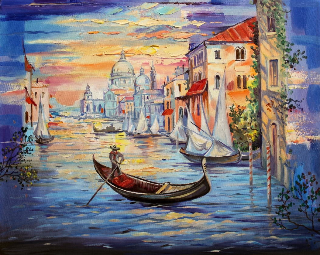 Сутрин във Венеция
