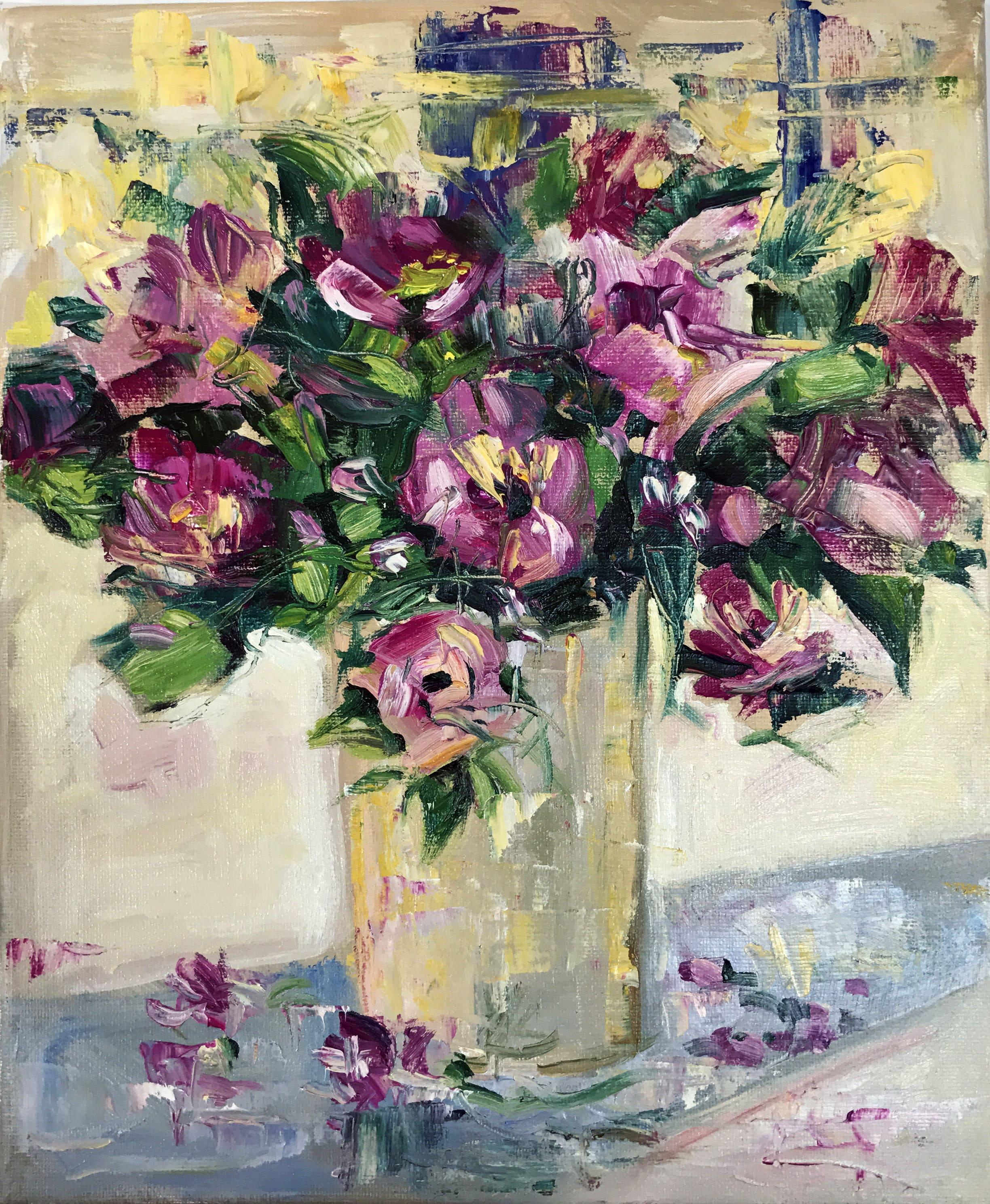 Лилави цветя